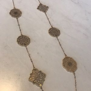 Gold Charming Charlie necklace